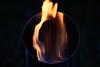 Siluette  aus der Flamme by Thomas Schacke