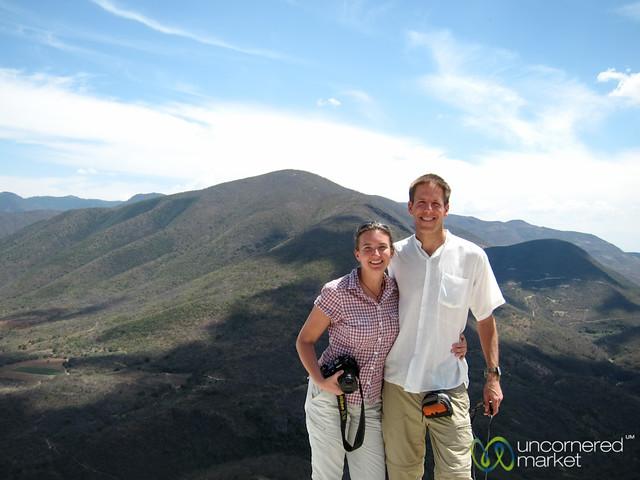 Dan and Audrey at Hierve el Agua - Oaxaca, Mexico
