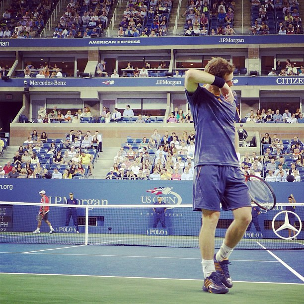 Andy Murray's 6-2, 6-1, 6-3 #lumix #lx7 /cc @panasonicusa