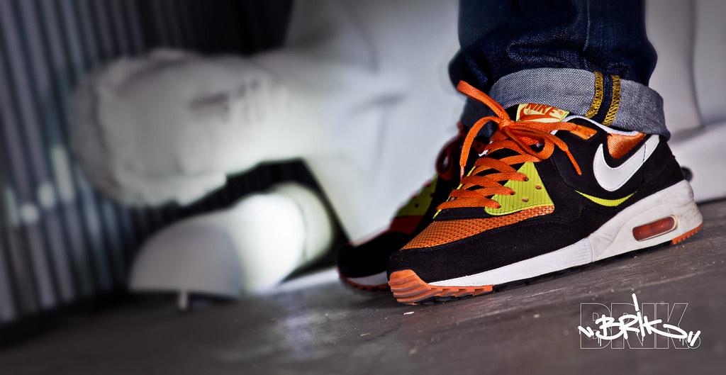 separation shoes d0205 9d30a Nike Air Max Light (BlackWhiteBright CactusOrange Blaze…  Fl