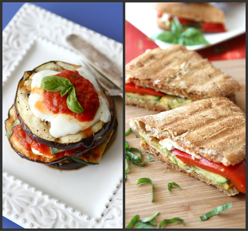 ... grilled italian panini with zucchini summer squash basil vegetarian
