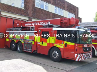 South Yorkshire fire and rescue YK57AOL