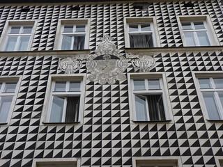 Image of  Ulica Floriańska. edificio kraków palazzo cracovia krakau facciata floriańska