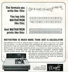 Mathatron is much more than just a calculator
