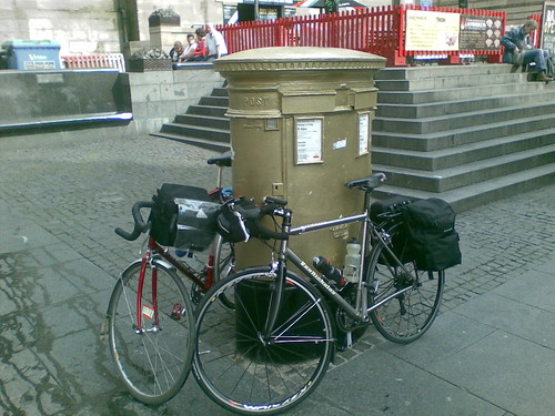 Chris Hoy's postbox
