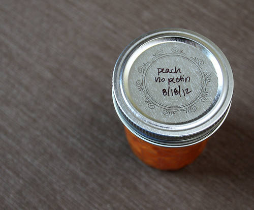 No Pectin Peach Jam