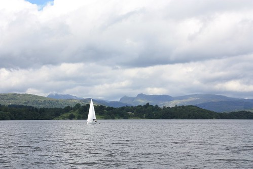 Sailboat on Windermere