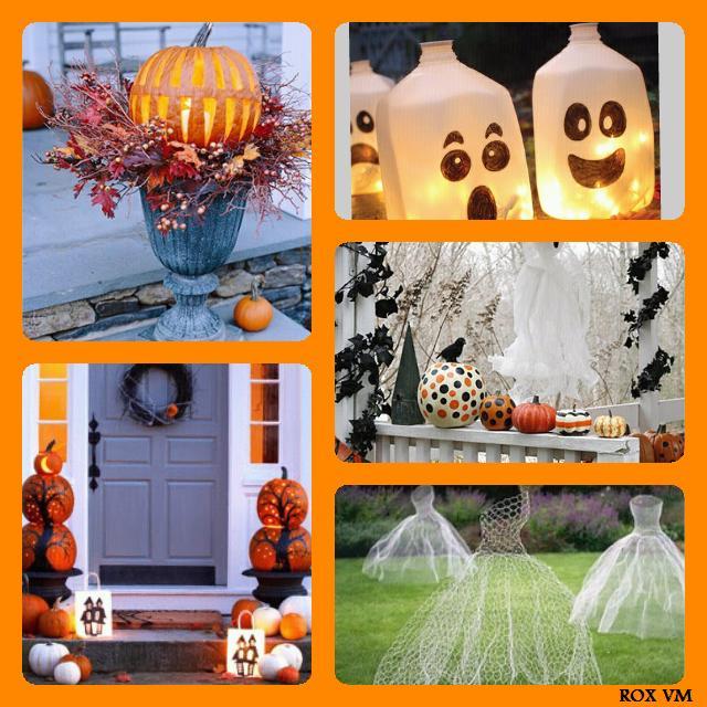 ... de décorations extérieurs pour Halloween!  Flickr - Photo Sharing