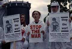 1991 Stop the Gulf War demo 15.jpg