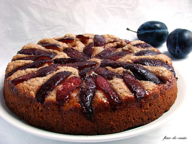 сливовый пирог низкокалорийный 1