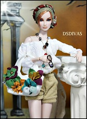 holiday in Greece:HABILISDOLLS & TOYUKA CREATIONS