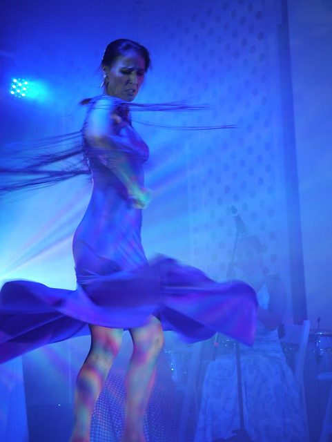Flamenco show by flickr user tabitum