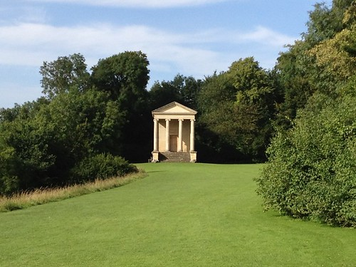 Stunningly beautiful Regency earthworks - with neo-Ionic Temple