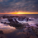 Thor's Well - Oregon Coast by kevin mcneal