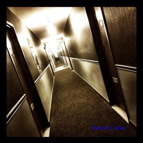 Corridor by rchoephoto