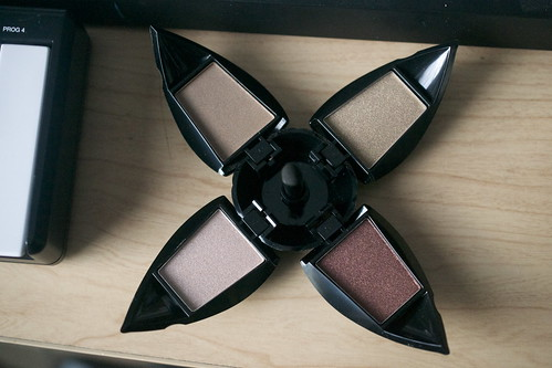 It is an eyeshadow quad or alien spacecraft?