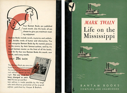 Bantam Books 1 - Mark Twain - Life on the Mississippi (with back)