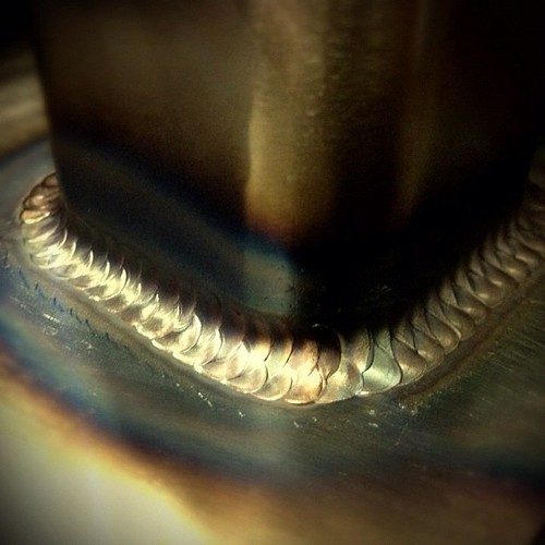 This pass was over the last weld I posted. #weldporn