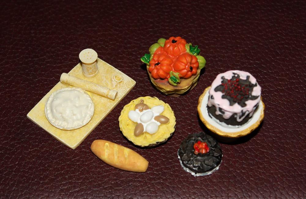 Дом Мечты №48 Набор продуктов, торт