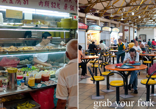 maxwell food centre hawker market singapore