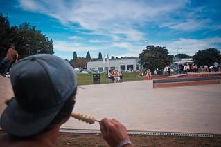 Sean lurking @ Radlands Plaza, Northampton