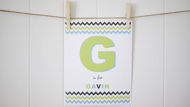 G is for Gavin
