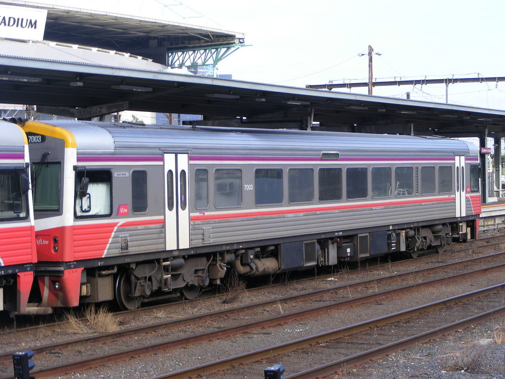 V Line 7003 Southern Cross 03.03.10 by Andy Cole