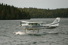aviation, airplane, propeller driven aircraft, wing, vehicle, cessna 206, seaplane, ultralight aviation,