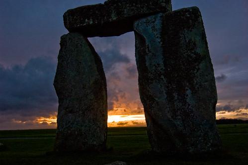 Stonehenge - Sunset - 09-10-12