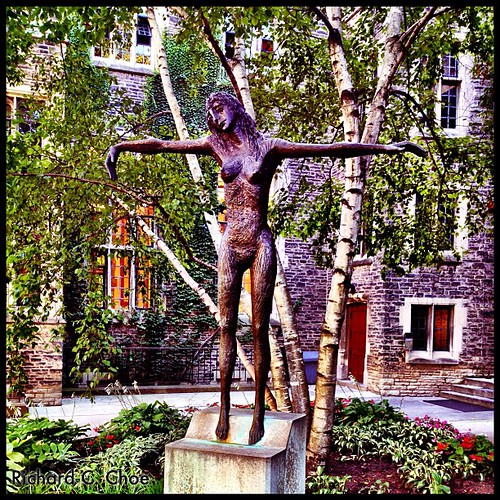 Crucified Wiman, Emmanuel College by rchoephoto
