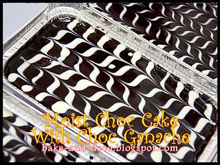 Moist Choc Cake with Choc Ganache