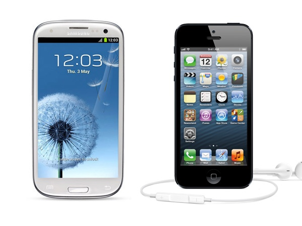 S3 vs iPhone 5