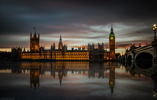 Mirrored in Thames | by Santiago Almada