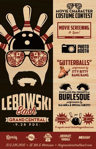 Lebowski Bash @ Grand Central Bowl