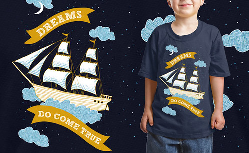 """Dreams Do Come True"" tee shirt"