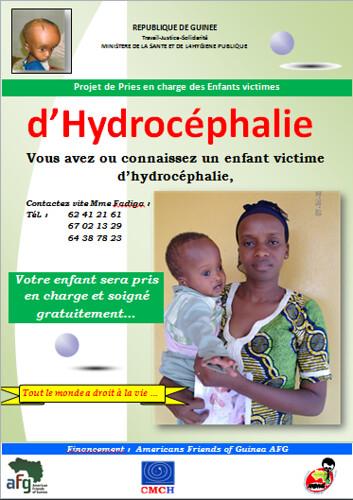 Affiche Hydrocéphalie