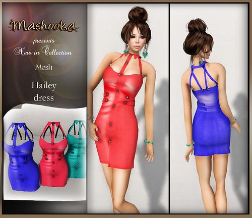poster Hailey dress B