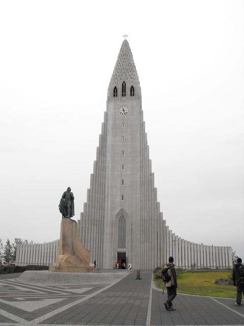 catedral islandia iceland reikiavik Hallgrímskirkja