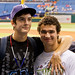 Kevin and Friend at Rays Game