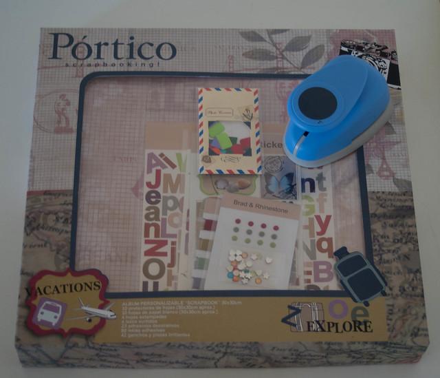 TELEGRAMAS: SCRAPBOOKING EN PORTICO