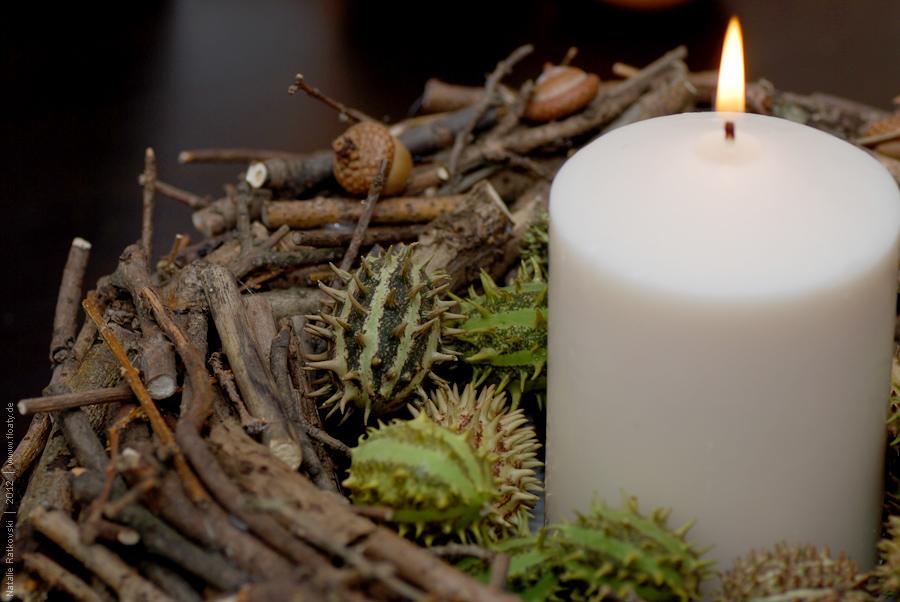 DIY: table wreath