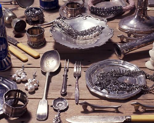 I SPY silver flatlay FASHIONISING