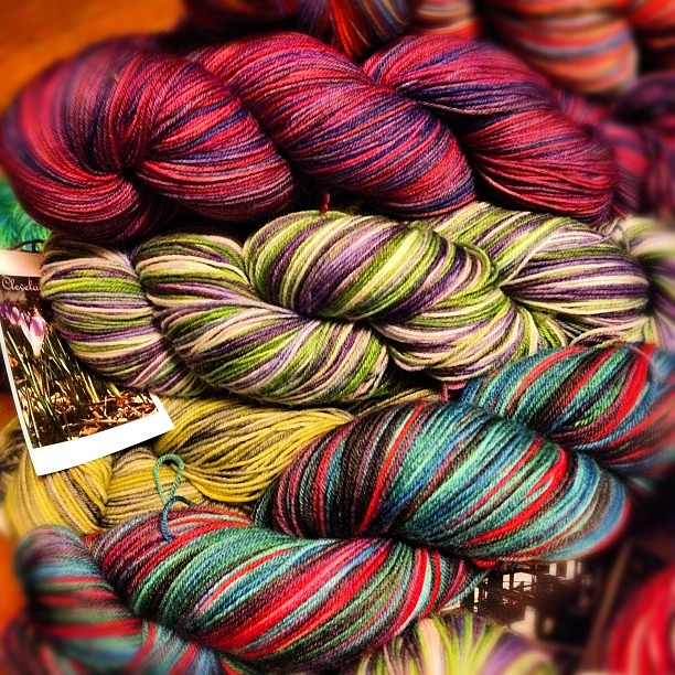 So much to do before sat's trunk show!  #yarn #destinationyarn #handdyed