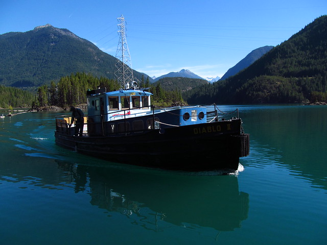 Diablo Boat Lake Toure Lunch Manue