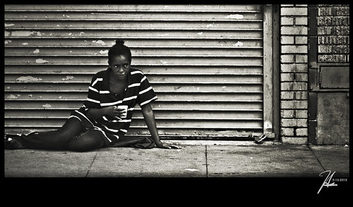 Downtown Los Angeles Street Photography - Skid Row