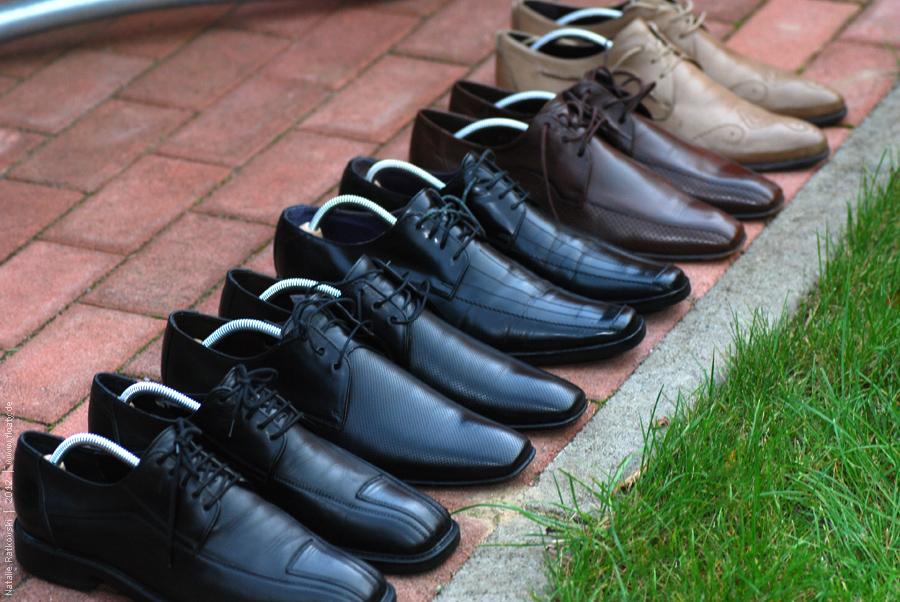 Die Schuhe meines Mannes