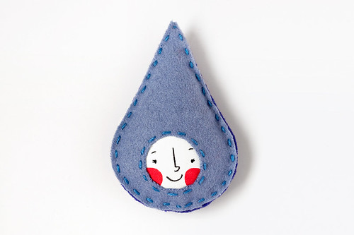 Doris the little rain droplet by Pygmy Cloud