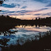 BOUNDARY WATERS SUNSET HASSELBLAD