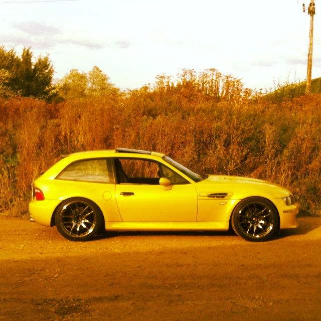 Bmw Z3 Black: Phoenix Yellow