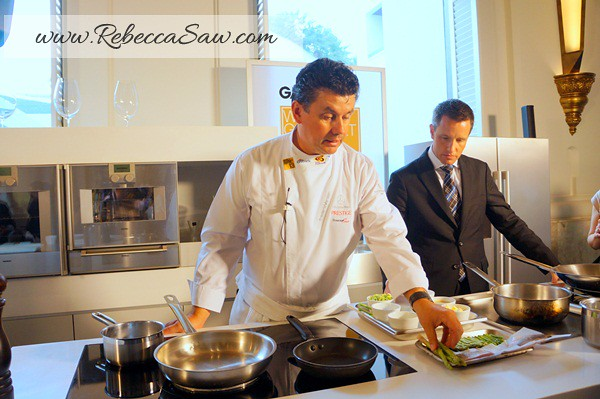 World gourmet festival 2012 - Four seasons Bangkok - frederic vardon